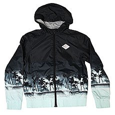 Ветровка детская Quiksilver Wavesjacketyth True Black