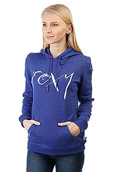 Толстовка кенгуру женская Roxy Cruisernightb Royal Blue