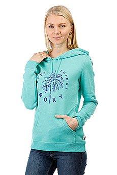 Толстовка кенгуру женская Roxy Cruisernighta Pool Blue