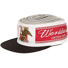 Бейсболка с прямым козырьком Huf Domestic Pillbox Hat White