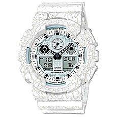 Электронные часы Casio G-Shock Ga-100cg-7a White