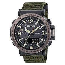 Электронные часы Casio Sport Prg-600yb-3e Black/Green