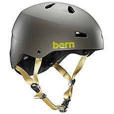 Шлем для сноуборда женский Bern Water Macon Matte Grey