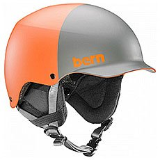 Шлем для скейтборда Bern Team Baker Matte Burnt Orange 2-tone/Black Cordova