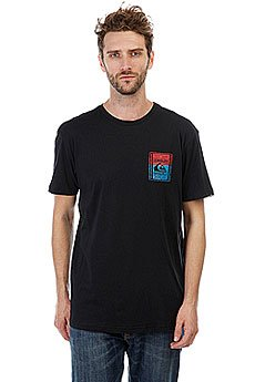 Футболка Quiksilver Walledup Black
