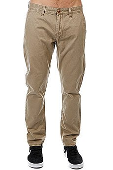 Штаны прямые Quiksilver Everyday Chino Elmwood
