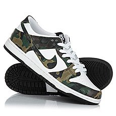 Кеды высокие Nike Sb Zoom Dunk Low Pro Legion Green