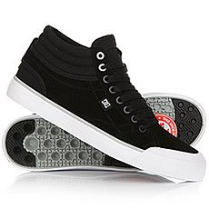 Кеды высокие DC Evan Smith Hi Black/White