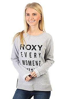 Толстовка свитшот женская Roxy Turnandgo Heritage Heather
