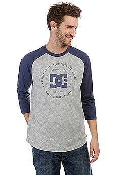 Лонгслив DC Rebuilt 2raglan Grey Heather/Summer