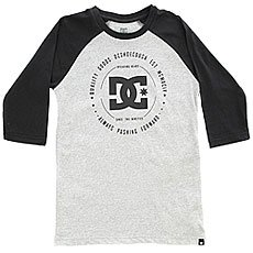 Лонгслив детский DC Rebuilt 2 Ragla Black/Grey Heather