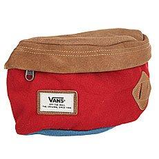 Сумка поясная Vans Aliso Hip Pack Red Dahlia