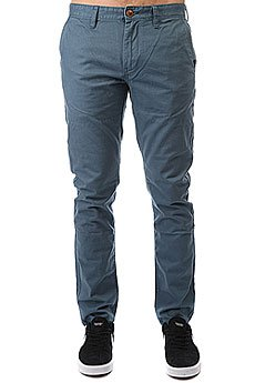 Штаны прямые Quiksilver Everyday Chino Indian Teal