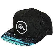 Бейсболка с прямым козырьком Quiksilver Aquablunt Black