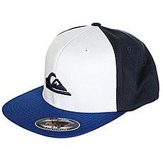 Бейсболка с прямым козырьком Quiksilver Stuckles Vallarta Blue