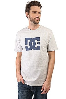 Футболка DC Shoes Star Light Grey Heather