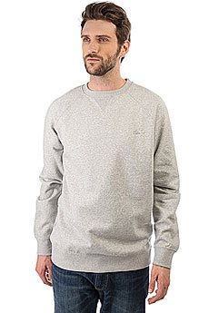 Толстовка свитшот Quiksilver Everydaycrew Light Grey Heather