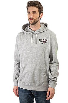 Толстовка кенгуру Quiksilver Feelin Fine Hoo Light Grey Heather