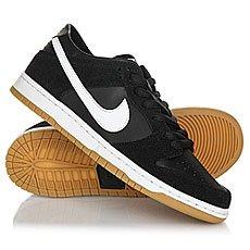 Кеды низкие Nike Sb Zoom Dunk Low Pro Black/White-Gum