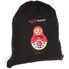 Мешок MyTarget Canvas Logo Mycom Matreshka Черный