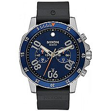 Кварцевые часы Nixon Ranger Chrono Black/Blue