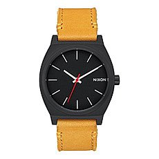 Кварцевые часы Nixon Time Teller Black/Goldenrod