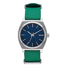 Кварцевые часы Nixon Time Teller Navy/Green