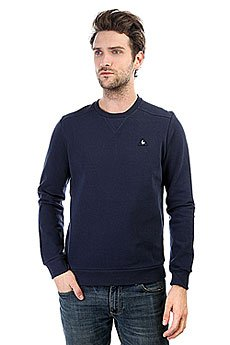 Толстовка свитшот Le Coq Sportif Chouki Crew Sweat Dress Blues