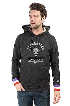 Толстовка кенгуру Le Coq Sportif Acf Po Hood Dark Heather Grey