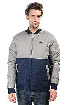 Бомбер Le Coq Sportif Wupi Teddy Titanium/Dress Blues