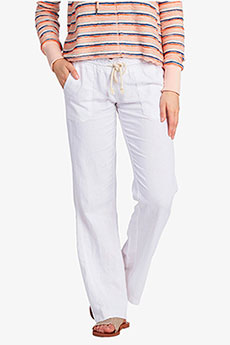 Штаны широкие женские Roxy Oceanside Pant Sea Salt