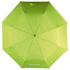 Зонт Складной Maps.me Ева Logo Зеленое яблоко