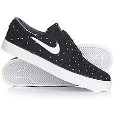 Кеды низкие Nike Zoom Stefan Janoski Cnvs Prm Black/White