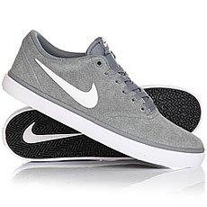 Кеды низкие Nike Sb Check Solar Cool Grey