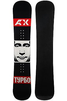 Сноуборд Turbo-FB Putin Black/White/Red (16-17)