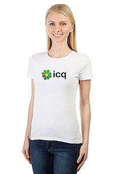 Футболка женская классическая ICQ Logo Logo Белая