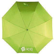 Зонт Складной ICQ Ева Logo Зеленое яблоко