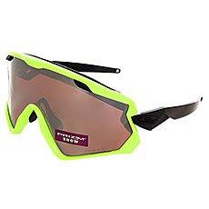 Маска для сноумобиля Oakley Wind Jacket 2.0 Neon Retina/Prizm Black Iridium/