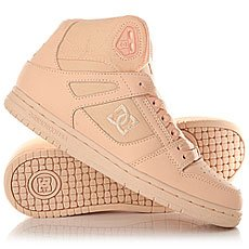 Кеды высокие женские DC Shoes Rebound High Peach Cream
