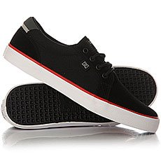 Кеды низкие DC Council S Black/White/Red