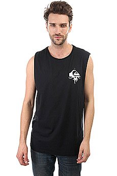 Майка Quiksilver Bornthornymuscl Black