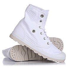 Ботинки высокие женские Palladium Baggy Low Lp White/Moonbeam