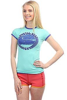 Гидрофутболка женский Roxy Roxysunsetss Pool Blue