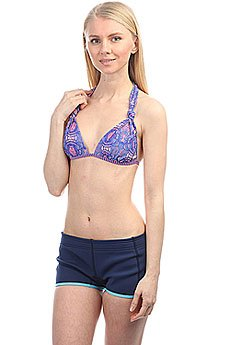 Бюстгальтер женский Roxy Mix Caleo Md 70 J Royal Blue Land Of T