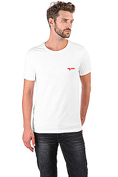 Футболка Wearcraft Premium Slim Fit My.com Logo Белая