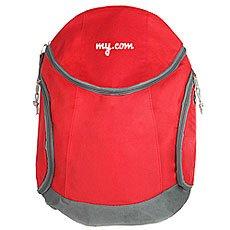 Рюкзак My.com Jogging Logo Красный/Серый