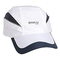Бейсболка Классическая Mail.Ru Qualifier Logo Темно-Синий/Белый