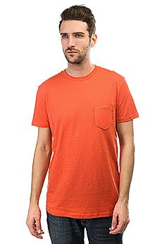 Футболка Quiksilver Slubstitution Burnt Sienna
