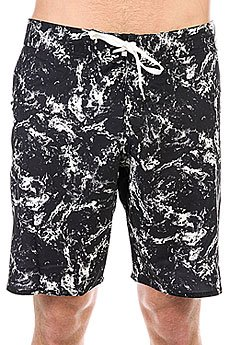 Шорты пляжные DC Crutchfield 20 Black Storm Print