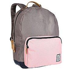 Рюкзак городской The Pack Society Classic Backpack Charcoal/Pink/Midnight Blue
